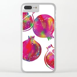 Lovely Fruits Clear iPhone Case