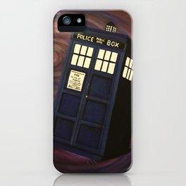 Doctor Who TARDIS iPhone Case