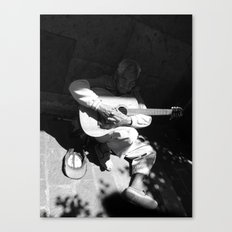 Guitarrista de Guadalajara  Canvas Print