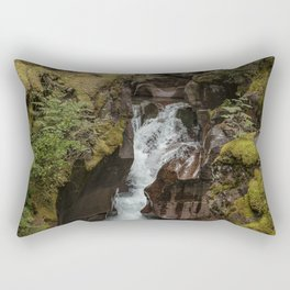Avalanche Gorge - Glacier NP Rectangular Pillow