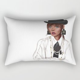 Chic in pearls Rectangular Pillow