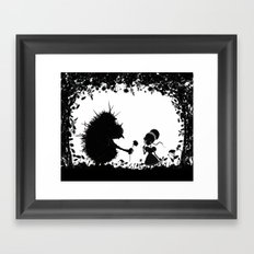 Beastly Beauty Framed Art Print