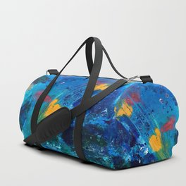 Views of Rainbow Coral, Tiny World Collection Duffle Bag