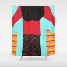 The Magic Sweatshirt Children's Book Cover Art Shower Curtain