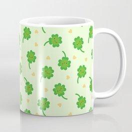 Kawaii Lucky Clover Coffee Mug