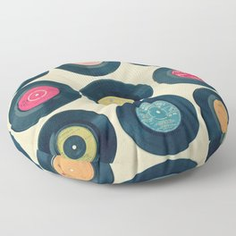 Vinyl Collection Floor Pillow