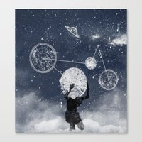 atlas Canvas Prints featuring Atlas by Slug Draws