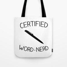 Certified Word-Nerd Tote Bag