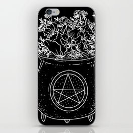 magical cauldron iPhone Skin