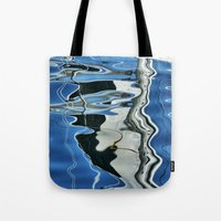 mirror Tote Bags featuring Mirror by Anne Seltmann