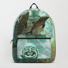 Buddha´s playground Backpack