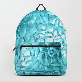 Beautiful metallic  futuristic pattern Backpack