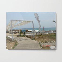 Beaches of Greece Metal Print