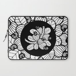 Black & White Cashew Apple Laptop Sleeve