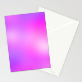 Pink Cosmic Gradient Stationery Cards