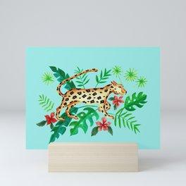 Cheetah's Hunt Mini Art Print