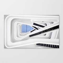 Zaha H A D I D | architect | Dominion Office Building Canvas Print
