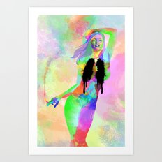 Disenchanted Art Print