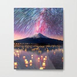 Mount Fuji Metal Print