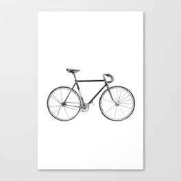 bicycle - portrait Canvas Print