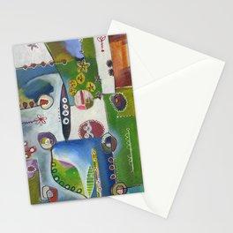 Suburban Maze Stationery Cards