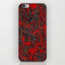 Volcano Girl iPhone Skin