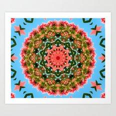 Mandala - Paradise Art Print