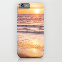 The golden beach iPhone Case