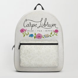 Seize the Book Backpack