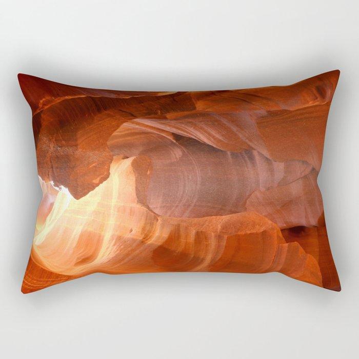 Magical Antelope Canyon Rectangular Pillow