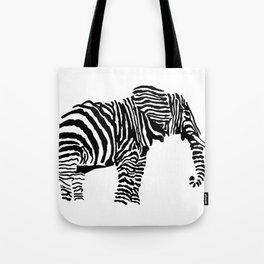 Elephant Canvas Print Tote Bag