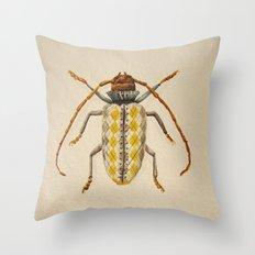 Urban Bug #3 Throw Pillow