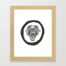 Monkey Buisness Framed Art Print
