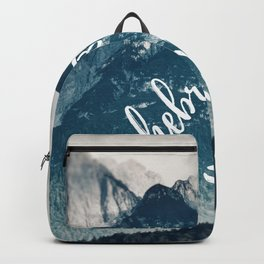 Mountain Landscape Hebrews 4:12 Backpack