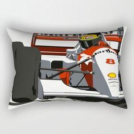 AYRTON SENNA- MONACO GRAND PRIX Rectangular Pillow