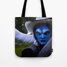 Alien Cowgirl III Tote Bag
