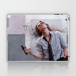 Detective Smecker From The Boondock Saints - There Was a Fire Fight Laptop & iPad Skin
