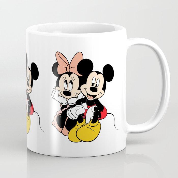 171a4afa0d53a Cartoon Minnie Mickey mouse Coffee Mug by maxvision