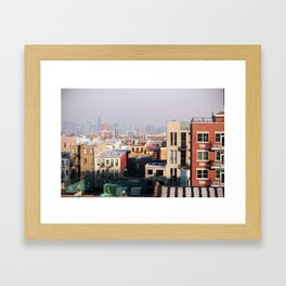 Brooklyn, New York Framed Art Print
