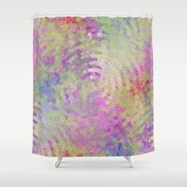 EARTHQUAKES Shower Curtain
