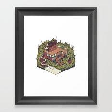 Squared Landscape I Framed Art Print