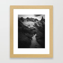 At the end of the world - Patagonia Framed Art Print
