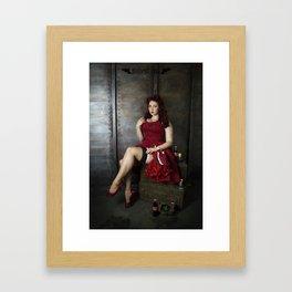 Nuka Pin-up Girl 2 Framed Art Print