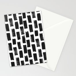 Paint Stroke Pattern Stationery Cards