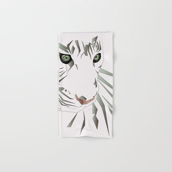 Tiger's Tranquility Hand & Bath Towel
