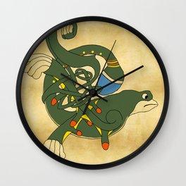 Celtic Liam Y Hygin Wall Clock