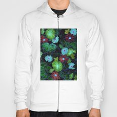Oriental blossom (night version) Hoody