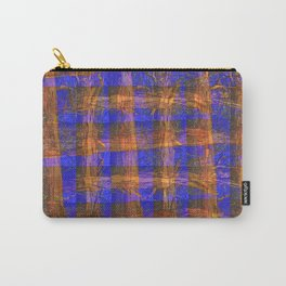 MADRONA TREE PLAID PATTERN Carry-All Pouch