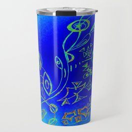 Life in the Ocean Travel Mug
