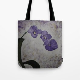 Orchids on a Stem Tote Bag